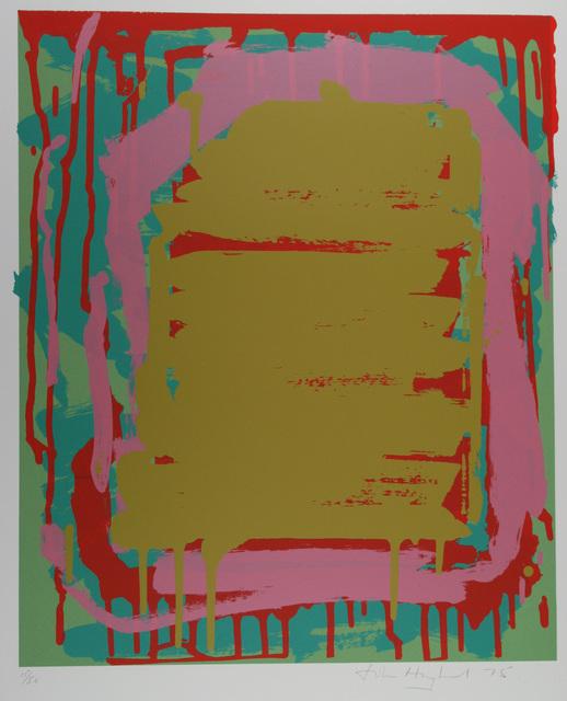 , 'Sutton Suite (ochre),' 1975, Gwen Hughes Modern British Art