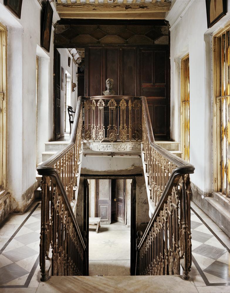 Stairwell, Monmotho Ghosh House, North Kolkata