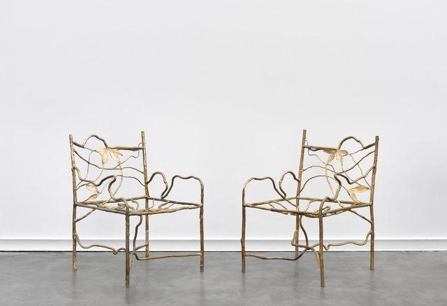, 'Fauteuils entrelacs,' 2015, Galerie Mitterrand