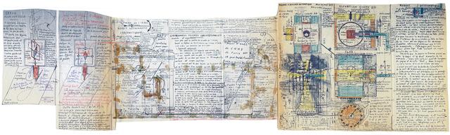 , 'untitled (ancre de l'âme),' 1971, christian berst art brut