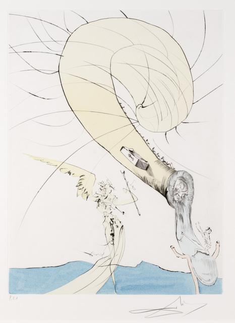 Salvador Dalí, 'Freud A Tete D'Escargot from Apres 50 Ans du Surrealisme', Print, Drypoint, Dallas Museum of Art
