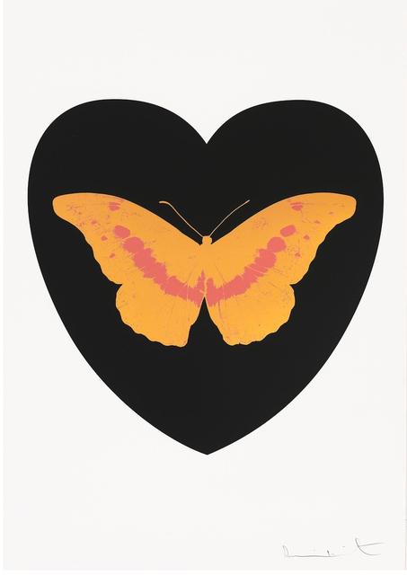 Damien Hirst, 'I Love You - Black/Cool Gold/Loganberry', 2015, Frank Fluegel Gallery