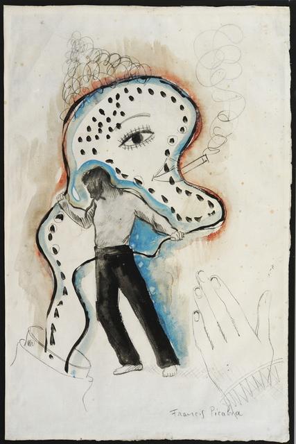 Francis Picabia, 'Pantalon noir', 1924-1927, Galerie Sophie Scheidecker