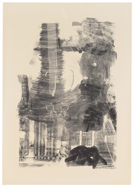 Robert Rauschenberg, 'Earth Tie (Stoned Moon)', 1969, San Francisco Museum of Modern Art (SFMOMA)