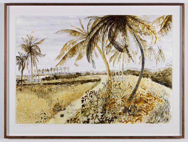 Sue Williamson, 'Postcards from Africa: Avenue of coconuts, Nigeria', 2018, Goodman Gallery