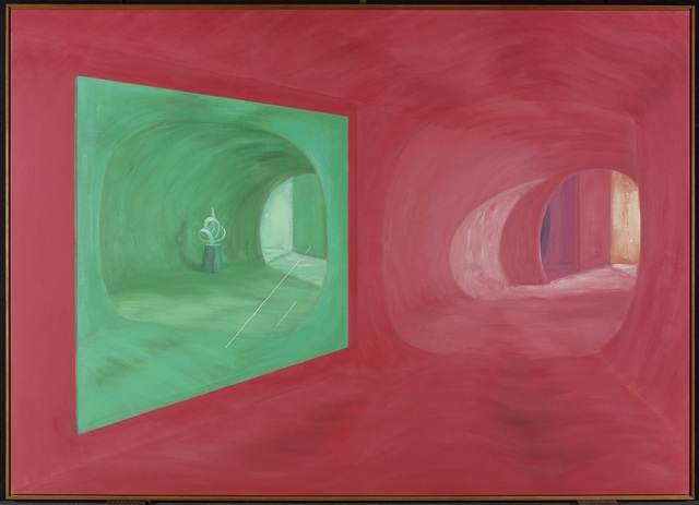 , 'Green Mirror with Sculpture,' 1989, Art Gallery of Ontario (AGO)