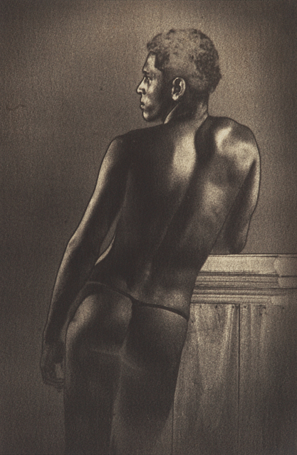 , 'Untitled (Male Nude with Books),' ca. 1934-38, Jhaveri Contemporary