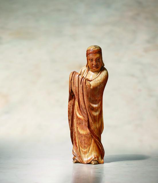 , 'An Ivory Standing Model of Bodhidharma 明15世紀 象牙菩提達摩立像,' China: Ming Dynasty-15th century, Rasti Chinese Art
