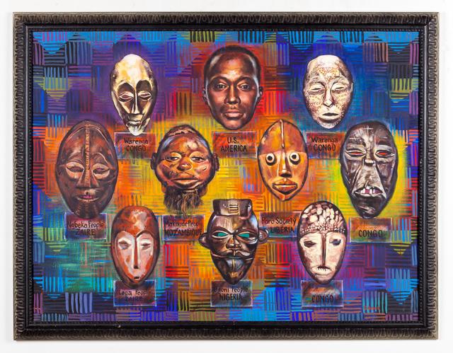 , 'Ancestors,' 1990, Kavi Gupta