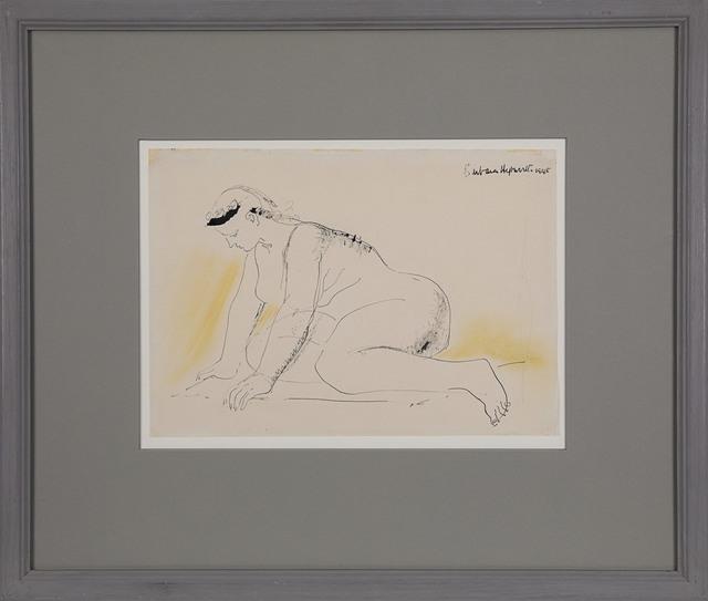 Barbara Hepworth, 'Crouching Figure', 1948, Rosenberg & Co.