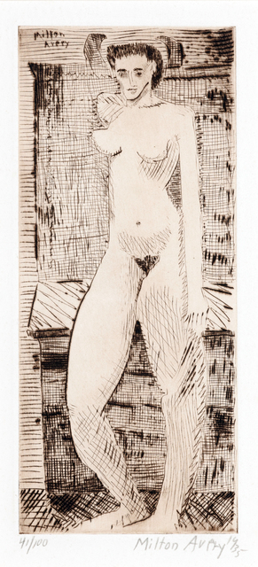 , 'Young Girl Nude,' 1935, Childs Gallery