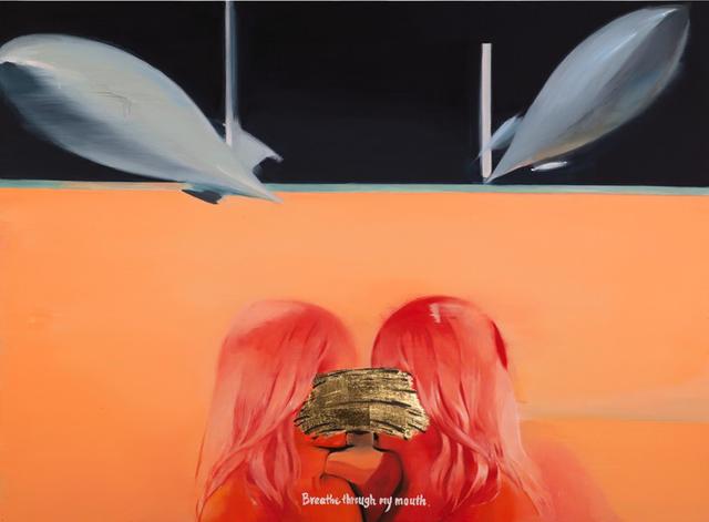 , '我要你在我嘴里呼吸 Breathe through my mouth ,' 2015, Shanghai Gallery of Art