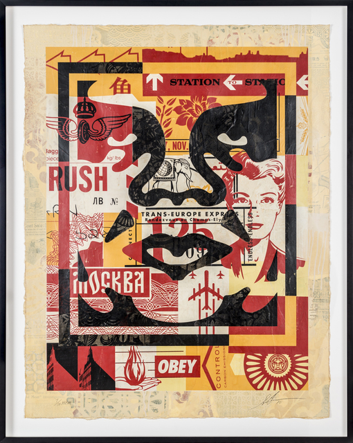 Shepard Fairey (OBEY), 'Icon Collage (Middle)', 2016, Print Them All