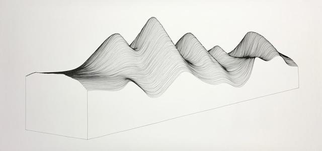 , 'Linescape 9,' 2017, Artemisa Gallery