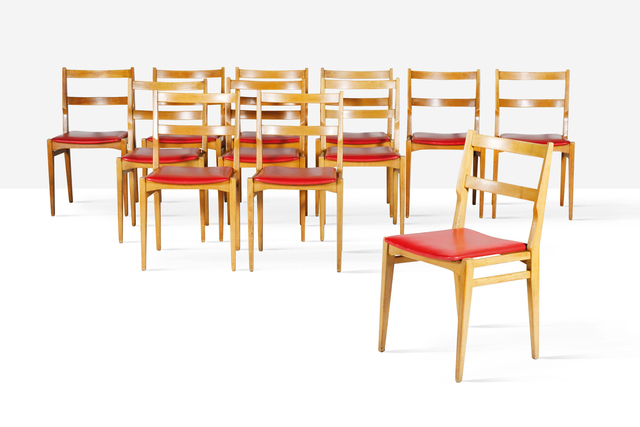 Melchiorre Bega, 'Set of 12 chairs', 1960, Aguttes