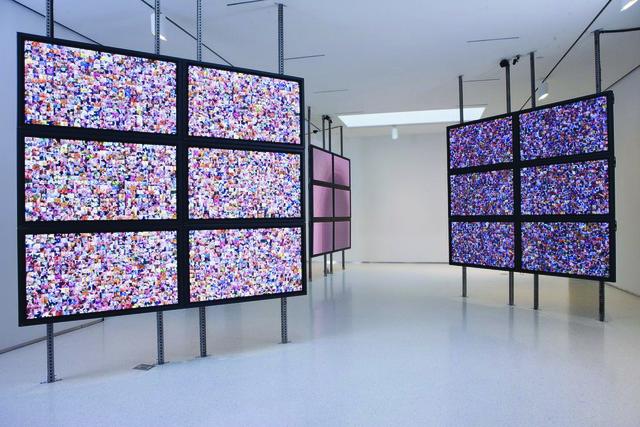 Rafael Lozano-Hemmer, 'Make Out, Plasma Version', 2009, bitforms gallery