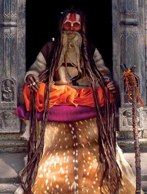 , 'Hanuman Das, Pashupatinath, Kathmandu, Nepal,' 2000, Octavia Art Gallery