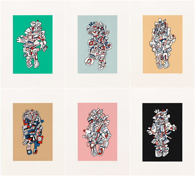 , 'Présences Fugaces: a Portfolio,' 1973, Pace Prints