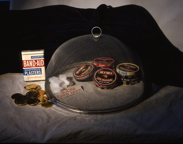 , 'Band-Aid, Ox Blood, Sucre,' 1986, Mirko Mayer