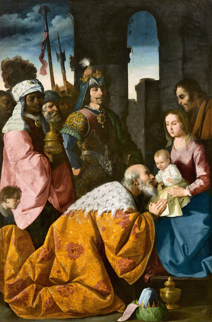 , 'Adoración de los Magos (The Adoration of the Magi),' ca. 1638-1639, Museo Thyssen-Bornemisza