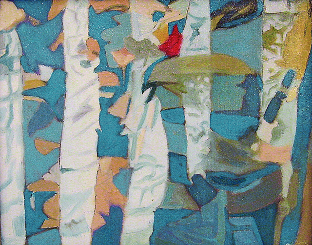 , 'Reflection I,' 1987, Walter Wickiser Gallery