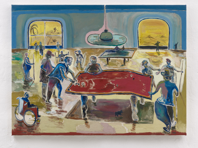 , 'Zocken, Saufen und dreckige Deals,' 2018, Setareh Gallery