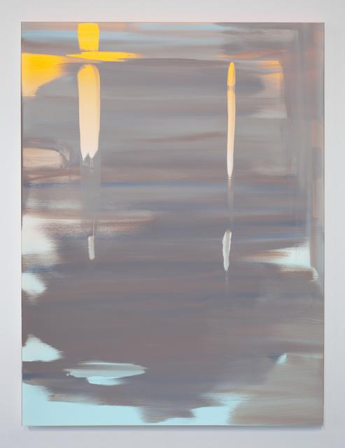 , 'Reflect (Luminous Orange-Horizon Blue),' 2018, Night Gallery