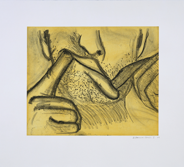 , 'Soft Ground Etching - Yellow,' 2007, Gemini G.E.L. at Joni Moisant Weyl