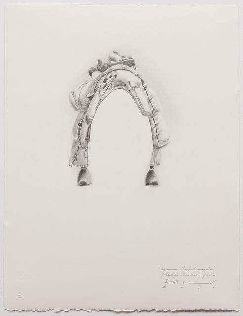 , ''Equine Impedimenta' - Tully's Burden (front),' 2017, Australian Galleries