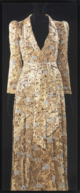 , 'Crepe Kimono - style dress with Deco print - Biba,' 2014, CFHILL