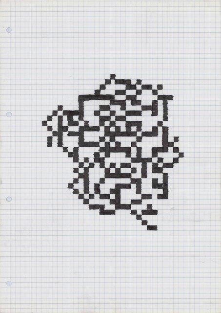 , 'Untitled (HZ 1984-Z-119),' 1984, Galería Juana de Aizpuru
