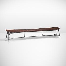 Sido & François Thevenin, 'Rare bench,' c. 1984, Wright: Design Masterworks