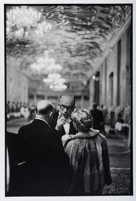 Leonard Freed, 'Reception at Herrenhausen Castle, Hanover, Germany', 1965, Photography, Toned Silver Gelatin Print, Gallery 270