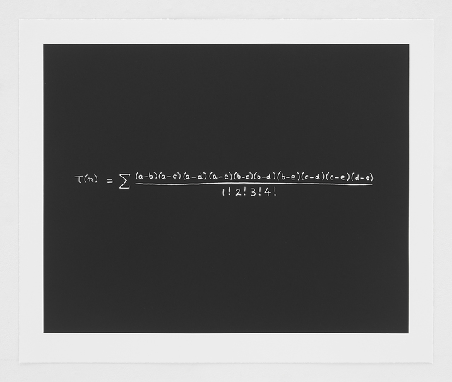 Freeman Dyson, 'The MacDonald Equation', 2014, Bernard Jacobson Gallery