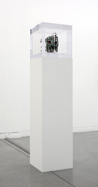 , 'Autonomy Cube (collaboration with Jacob Appelbaum),' 2014, Altman Siegel