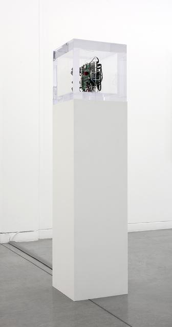 , 'Autonomy Cube (collaboration with Jacob Appelbaum),' 2014, Altman Siegel