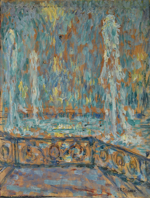, 'Les jets d'eau, Versailles,' 1922, Daphne Alazraki Fine Art