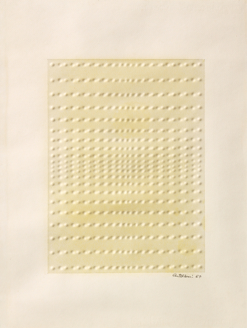 Enrico Castellani, 'Senza titolo', 1967, Ambrosiana Casa d'Aste