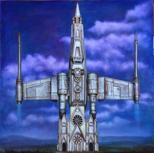 , 'Star Wars Church,' 2015, Joseph Gross Gallery