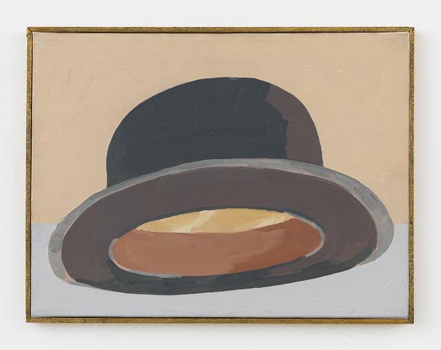 , 'Black Bowler Hat (Bottom View),' 1988, Johannes Vogt Gallery