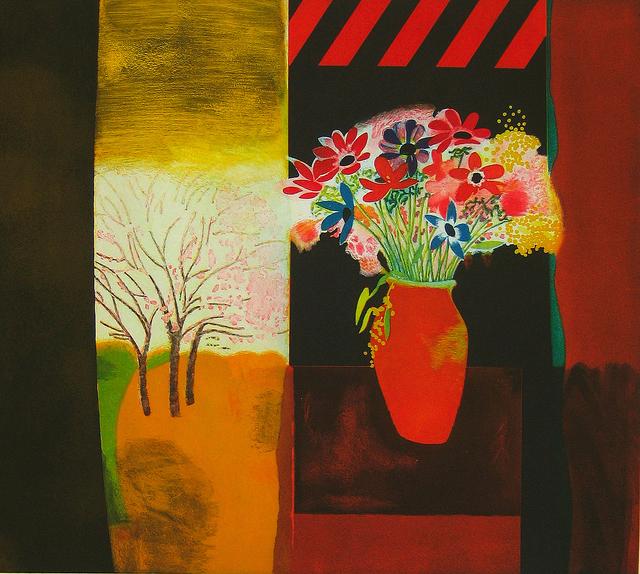 , 'Anemones in Vase,' 1998, Han Art