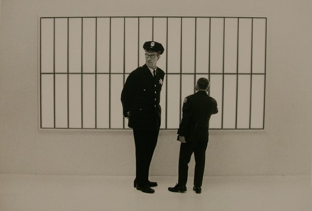 , 'Bank Guard, SF,' 1969, Anglim Gilbert Gallery