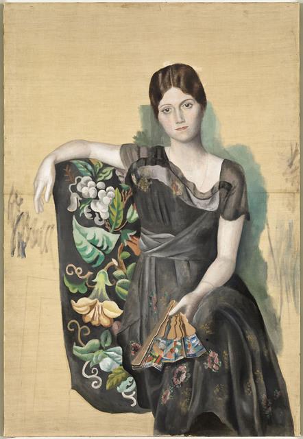 , 'Portrait d'Olga dans un fauteuil,' , Musée Picasso Paris