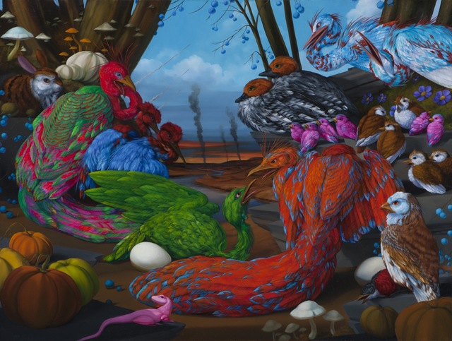 Laurie Hogin, 'Habitat Diorama Illustration the effects of substances in the environment', 2012, Coleccion SOLO
