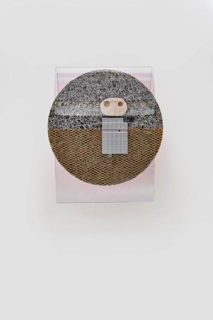 , 'Enlarged chip implant (ancient recordings) No 2,' 2018, Kadel Willborn