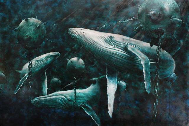 , 'Whales,' 2017, Adelson Galleries