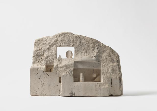 , 'White Facade,' 1987, Noguchi Museum