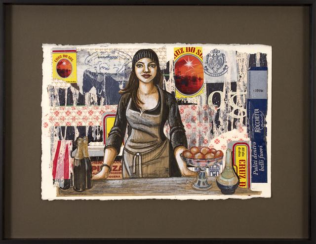 , 'Preparatory Denisa the Barista,' 2018, Blue Rain Gallery