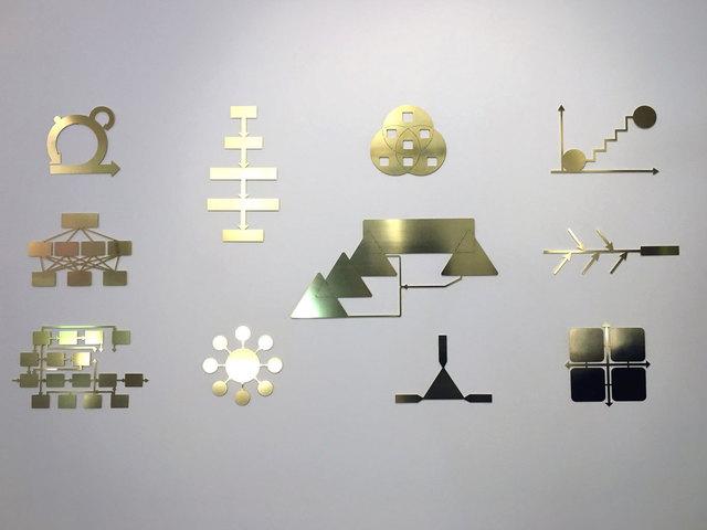 , 'Management visuel #12,' 2016, Galerie Eva Meyer