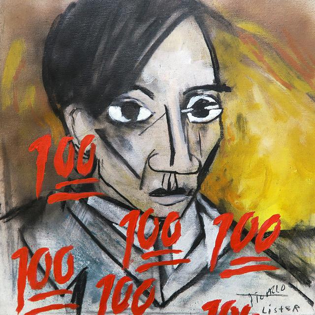 , 'SELF PORTRAIT 1907 / Homage to Pablo Picasso,' 2019, Mirus Gallery